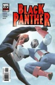 Black Panther #1 Esad Ribic Variant NM (2005) Captain America Marvel Knights comic book